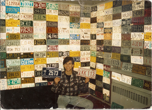 Andy Bernstein in his childhood bedroom. (Photo courtesy of Andy Bernstein)