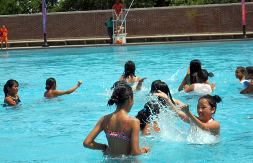 Sunset Park public pool open for summer season (Photo by Michael Drury)