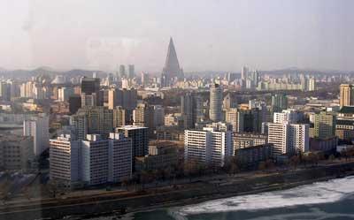 Pyongyang City View