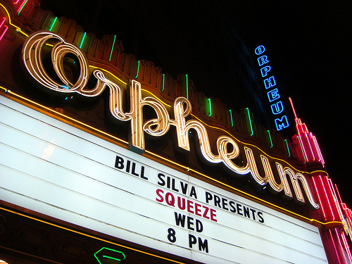 Squeeze marquee