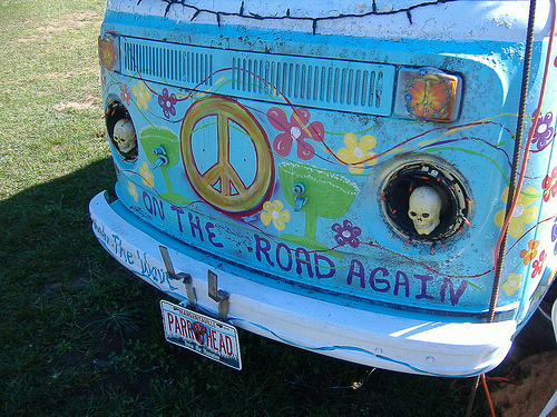 A Fusion of Fandom: the Parrothead Van